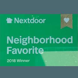 Nextdoor Neighborhood Favorite 2018 Winner